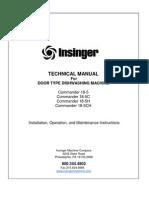 18-5 Door Type Tech Manual