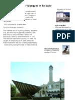 Mosques in Tel Aviv חול