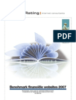 JungleRating -  Benchmark financiele websites 2007