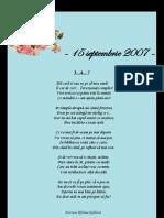 Arhiva Mesaje Cititori - 2007