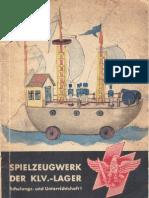 Dienststelle Fuer Kinderlandverschickung - Spielzeugwerk Der KLV-Lager (1942, 51 Doppels., Scan)