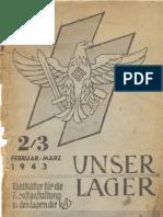 Dienststelle Fuer Kinderlandverschickung - Unser Lager (1943, 35 Doppels., Scan)