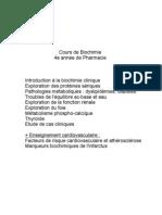 Biochimie_Clinique_résumé cours H.Haidous