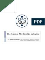 The Alumni Mentorship Initiative - Presentation (Aug 13 2012)