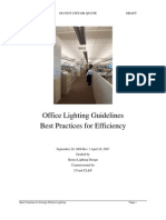 Office Lighting Guidelines Rev 1