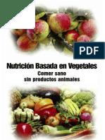 Nutrición Basada en Vegetales