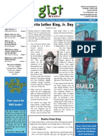 Gist Weekly Issue 7 - Martin Luther King, Jr. Day