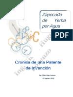 Cronica de una patente de invención