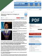 Entrevista Al Gran Maestro de Uruguay