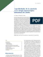 Anestesia Laparoscopica Abdominal