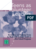 As TeenVolunteers[1]