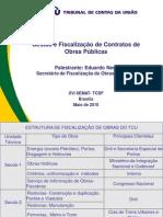 Gestão e Fiscalização de Contratos de Obras Publicas