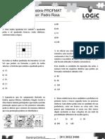 LOGIC Preparatório Profmat Aula 9 - Análise Combinatória