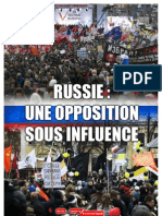 Etude Contestation Russe