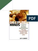 Disciplined Minds Schmidt