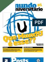 Jornal Mundo Universitário - Edição 1