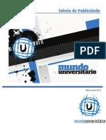 Tabela Midia Kit - Mundo Universitário - 2º Semestre
