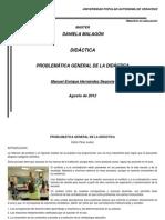 PROBLEMÁTICA GENERAL DE LA DIDÁCTICA