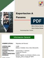 Exposicion Exportacion a PANAMA