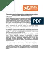 Soporte Para El Desarrollo e Implementacion de Un Integro Programa de Desarrollo de Naciones Unidas en Narcotrafico y Narcoterrorismo
