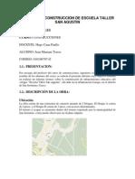 75957333 Informe de Construccion de Infraestructura Educativa