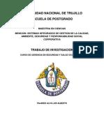 Trabajo de Investigación - Luis Alberto Pajares Alva - Gerencia SSO