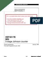 Datasheet IC 4017