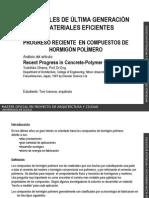 Progreso en Compuestos Hormigon Polimero (Toni Invanova)