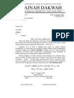 Surat Mohon Partisipasi Ceramah