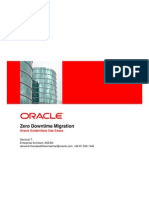 Oracle GG for DB migration