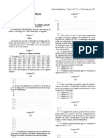 Lei n.º 23/2012 Código do Trabalho