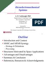 MEMS in space applications