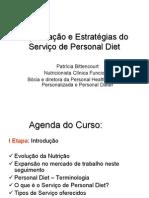 Implementaçao Do Serviço de Personal Diet