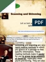 31 980565 Scanning and Skimming