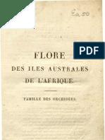 Flore des iles australes de la'Afrique (1822) - Famille des orchidées