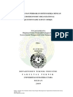 PENILAIAN DAN PERBAIKAN SISTEM KERJA DENGAN MACROERGONOMIC ORGANIZATIONAL QUESTIONNAIRE SURVEY (MOQS)