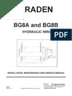 Braden BG8A BG8B Installation Mainenance and Service Manual