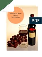 Glossary of Wine-Tasting Terminology, Matei Alina Mihaela, MTI Anul 1