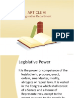 Article 6 Legislative