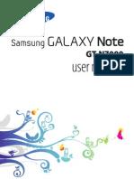 Manual Galaxy Note