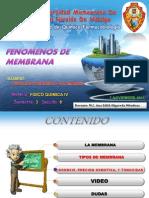 FENOMENOS DE MEMBRANA