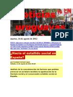 Noticias Uruguayas Martes 14 de Agosto Del 2012