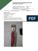 How to SVX Hatch Struts