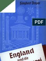 Dreyer, Siegbert - England Und Die Freimaurerei (1940, 62 S., Scan-Text)