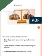 BOP Deficits and Surplus (1)