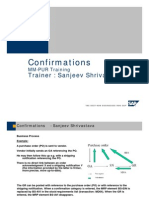 SAP PO Confirmations