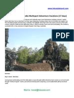 Vietnam and Cambodia Multisport Adventure Vacations