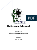 CLIPS Advanced Programming Guide
