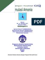 simulasi amonia