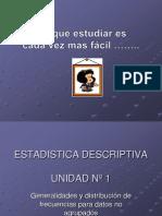 distribucinfrecuenciadatosnoagrupadosmonica-100417150525-phpapp02
